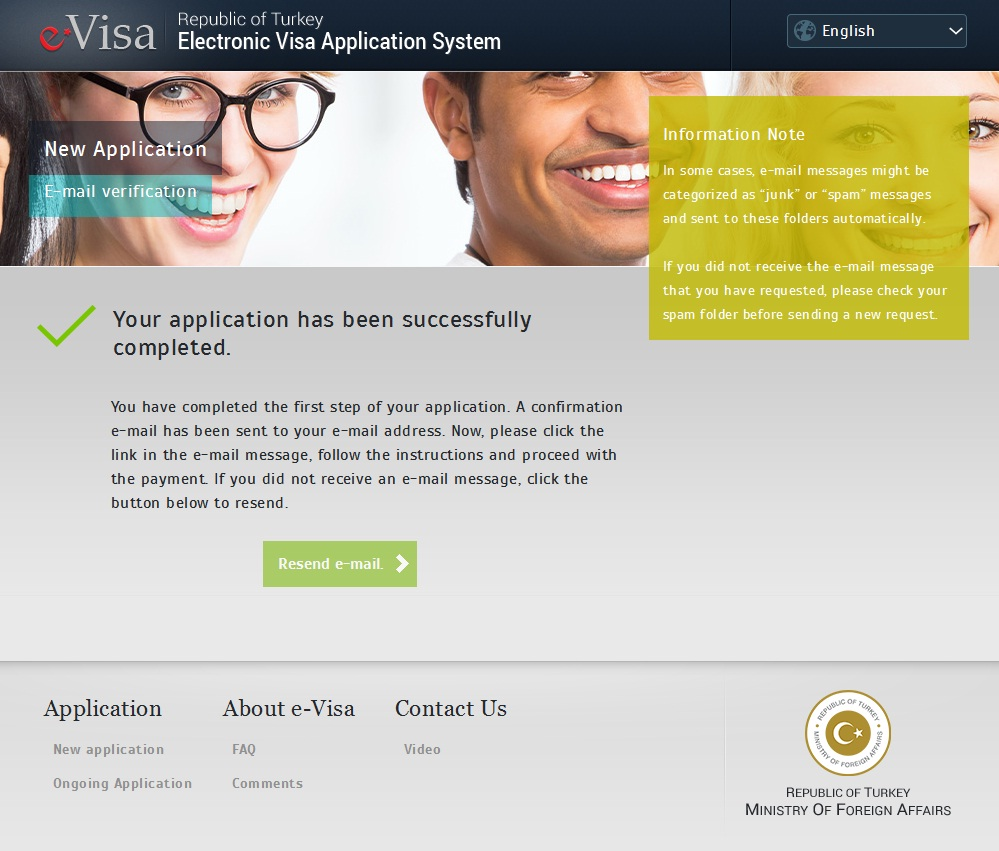online visa for Turkey