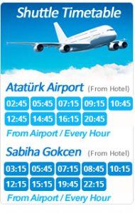 sabiha gokcen airport to sultanahmet