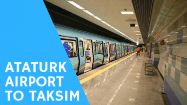 Go to taksim from ataturk airport