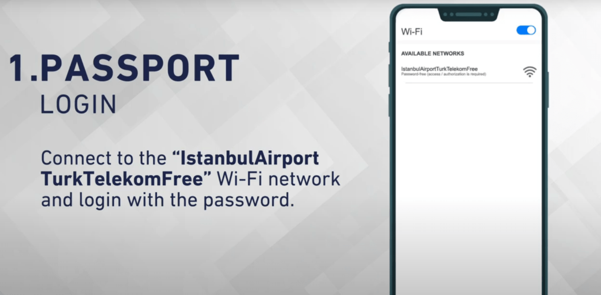 free wifi service at istanbul airport