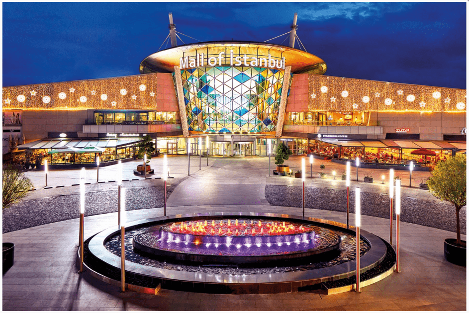 top 5 shopping malls