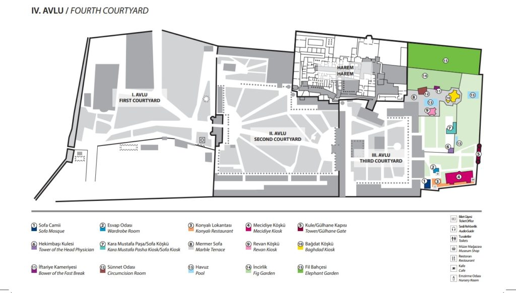 Topkapi-palace-museum-tour-plan-4rd-courtyard