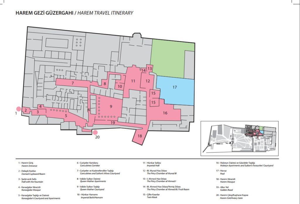 Topkapi-palace-museum-tour-plan-harem