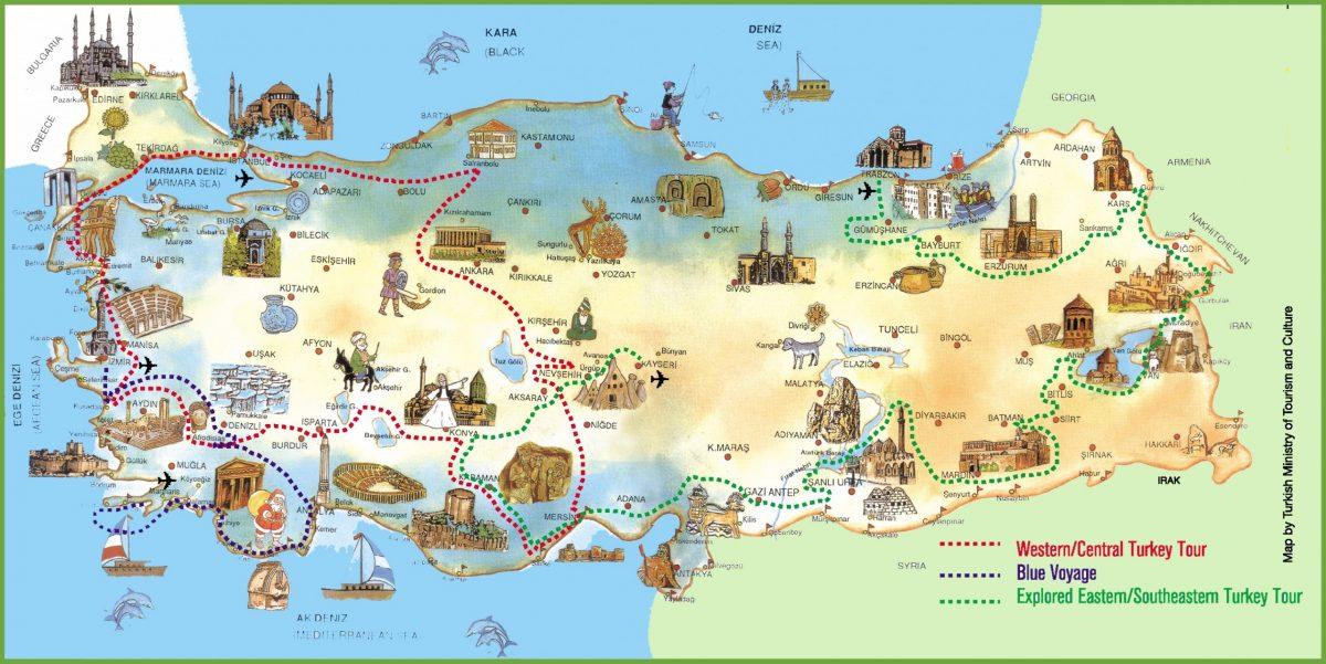 best destinations in turkey