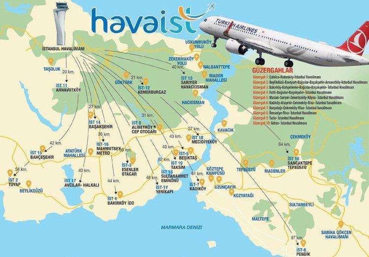 havaist map