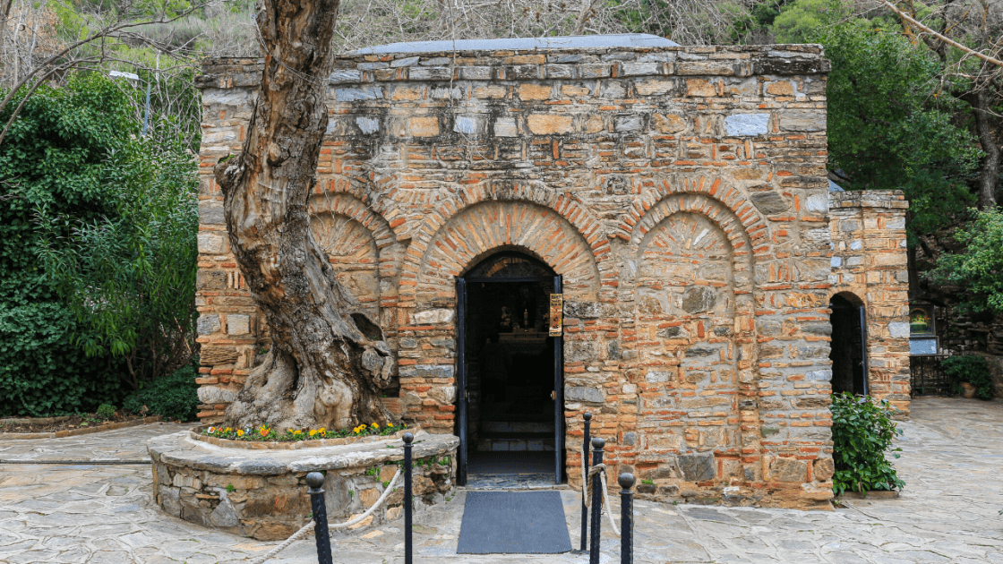 Ephesus-archaeological site-house-of-virgin-mary