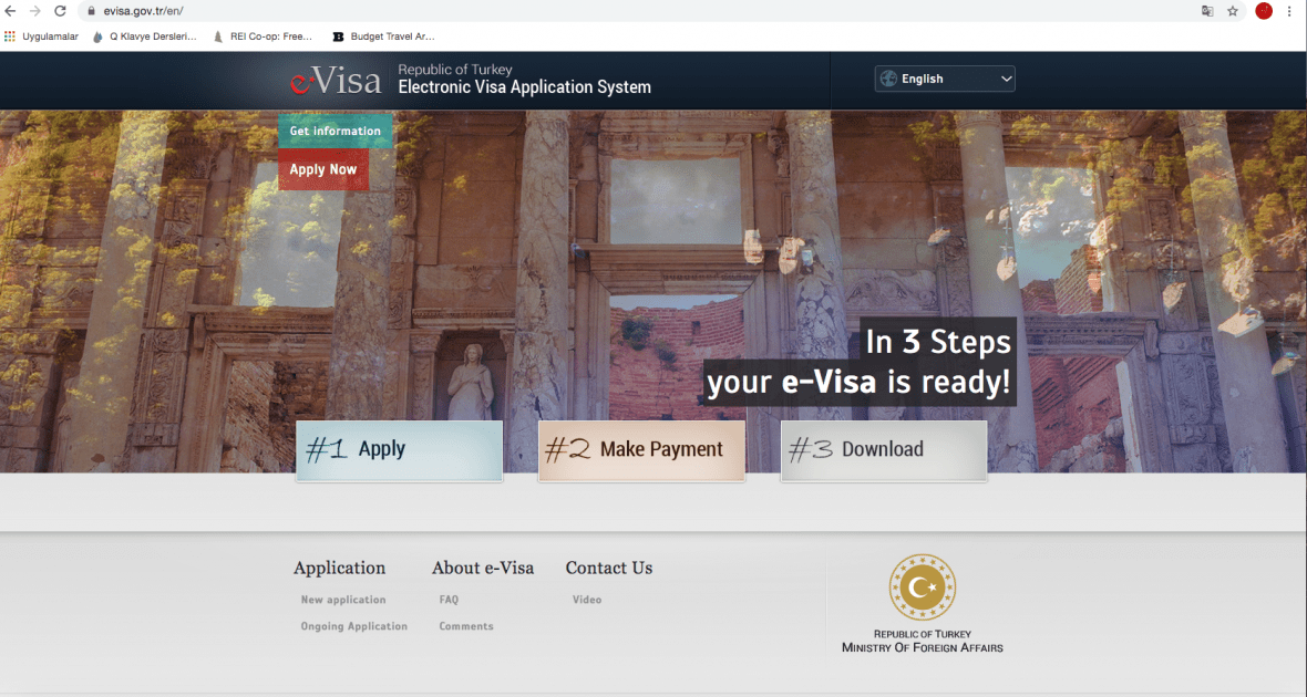 Turkish Visa Online