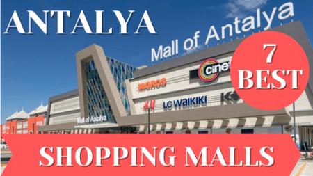 best shopping malls in antalya