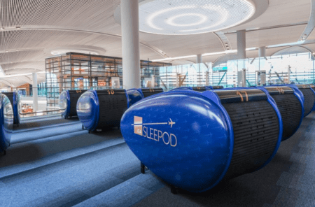 sleeping pods at istanbul airport