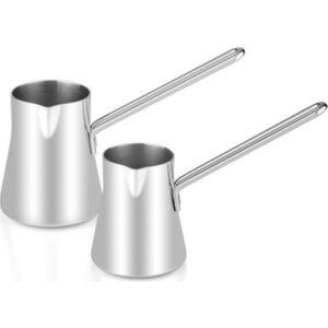 stainless steel turkish coffee pots