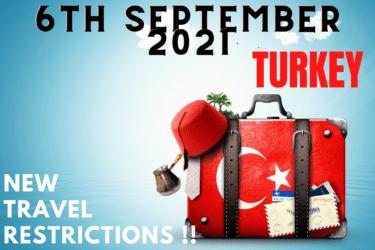 turkey travel restrictions